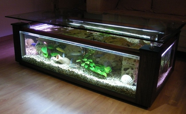 Aquariumtisch  kreative Entscheidung fr Ihr Zuhause  Archzinenet