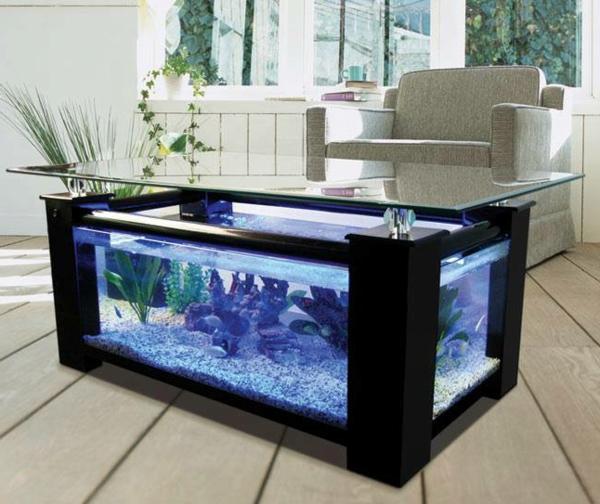 Aquariumtisch  kreative Entscheidung fr Ihr Zuhause