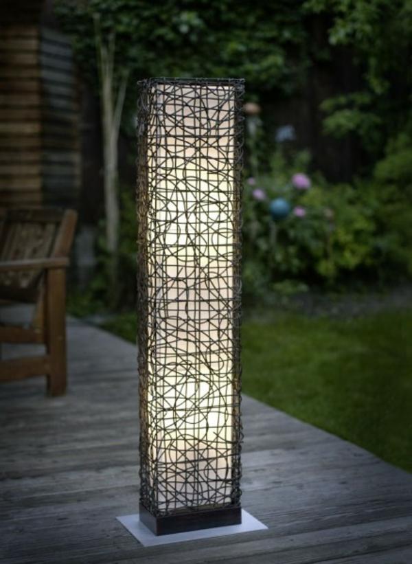 26 attraktive Gartenlampen