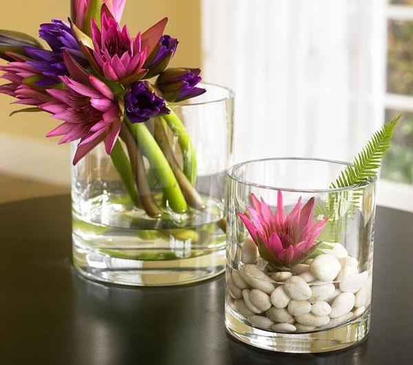 Glas Deko  stilvoll und wunderschn