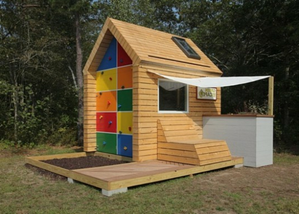 spielhaus garten modern – lyfa, Gartengestaltung