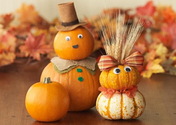 Herbstliche Dekoration oder den Herbst zu Gast einladen