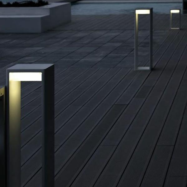 26 attraktive Gartenlampen  Archzinenet