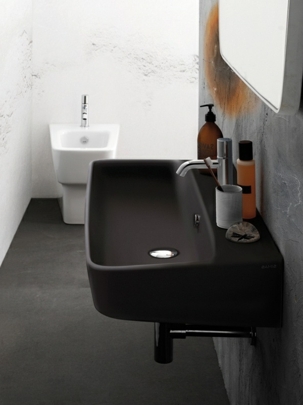 Schwarzes Waschbecken fr das Badezimmer  Archzinenet