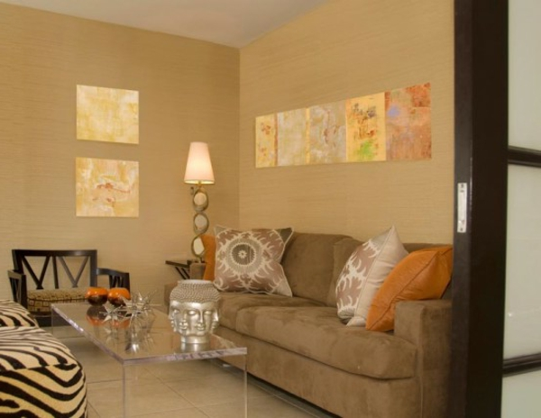 Orientalische Dekoration frs Wohnzimmer  33 Fotos  Archzinenet