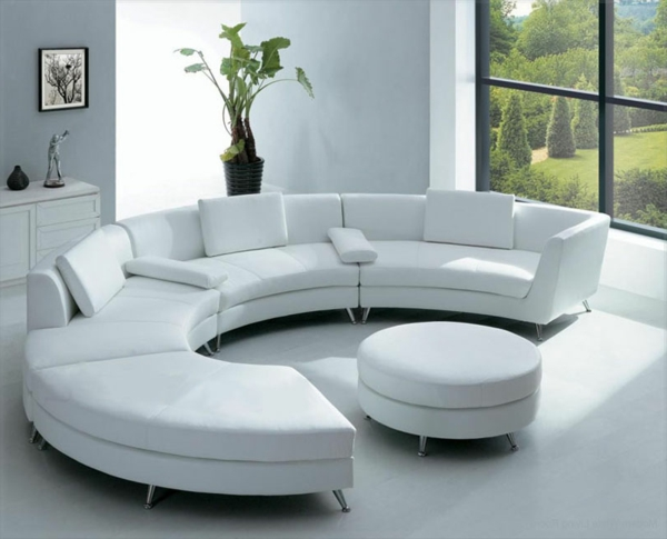 modern sofa set images replacement cushion covers conservatory furniture runde sofas - 23 interessante designs! archzine.net