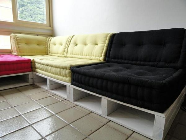 Sofa aus Paletten  42 wunderschne Bilder  Archzinenet