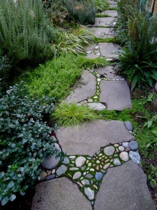 steinweg im garten verlegen inspirierende ideen bitmoon best, Garten und erstellen