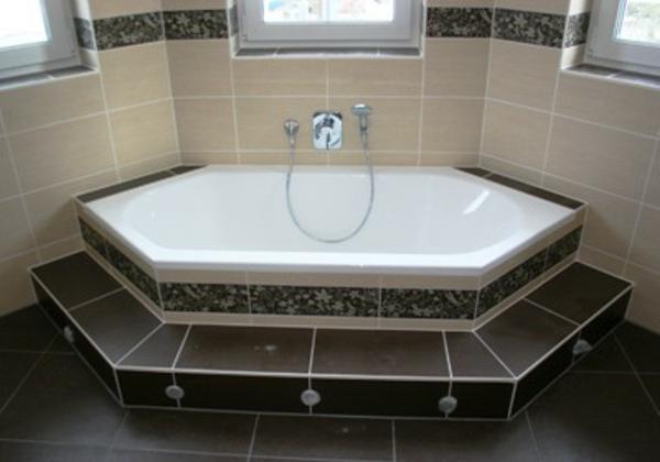 Eine sechseck - Badewanne würde super in Ihrem Bad wirken! - Archzine.net