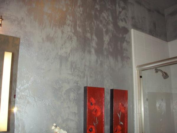 Silberne Wandfarbe  24 unglaubliche Bilder  Archzinenet