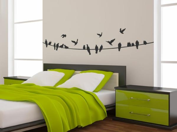 wandbilder schlafzimmer selber malen. Black Bedroom Furniture Sets. Home Design Ideas