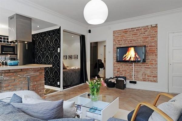 einrichtungsideen bilder einzimmerwohnung einrichten - boisholz - Einzimmerwohnung Wohnideen
