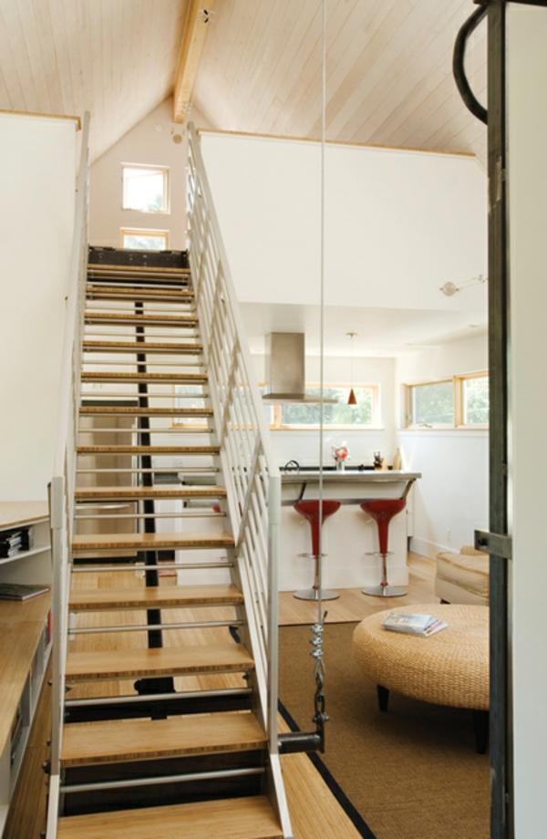 Platzsparende Treppen  32 innovative Ideen
