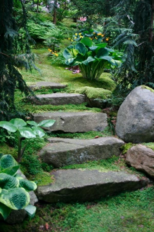 Gartentreppe  33 tolle Gestaltungsideen  Archzinenet