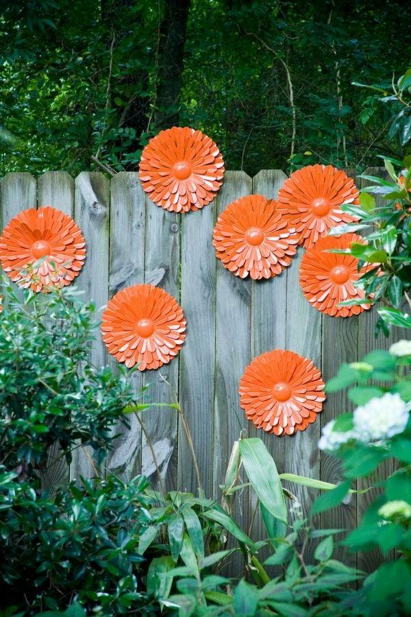 Wunderschne bunte Gartendeko  Archzinenet