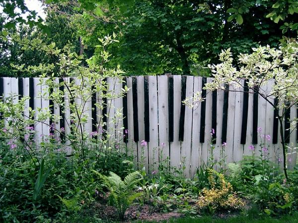 kreative garten zaun design ideen - boisholz, Garten und erstellen