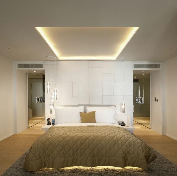 Indirekte Beleuchtung im Schlafzimmer  schne Ideen