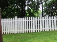 Schne Ideen fr einen Gartenzaun aus Holz in Wei ...