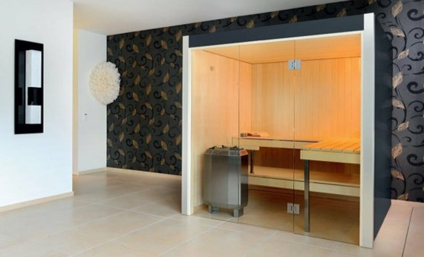 Sauna mit Glasfront  52 ultramoderne Designs