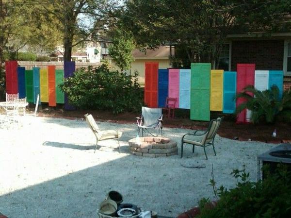 gartenzaungestaltung garten sichtschutz gartenzaun selber bauen, Gartenarbeit ideen