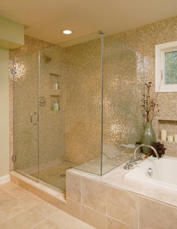 Geflieste Dusche  25 wunderschne Bilder  Archzinenet
