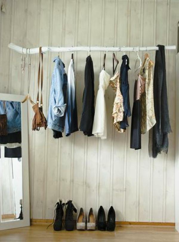 Kleiderstange fr Wand  24 originelle Modelle  Archzinenet