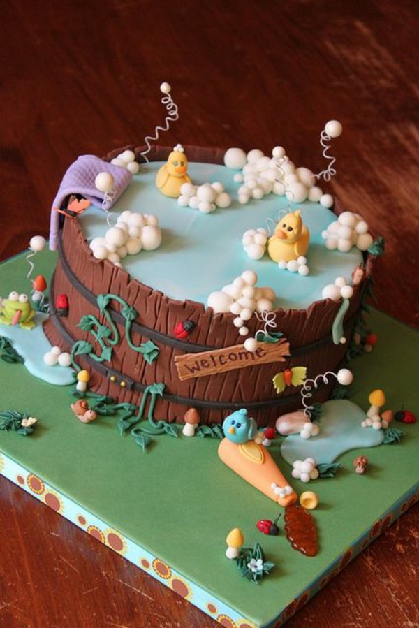 Coole Torten Dekoration fr jeden Anlass