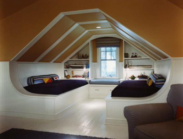 Schlafzimmer im Dachgeschoss  25 coole Designs  Archzinenet