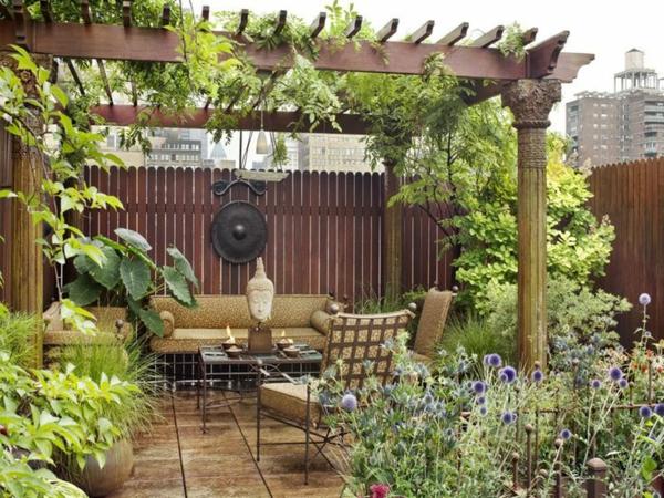 Terrassengarten  wunderschne Gestaltungsideen  Archzinenet