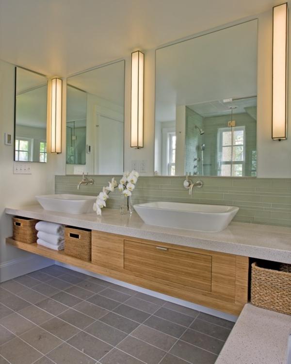 Badezimmer Unterschrank Gruen