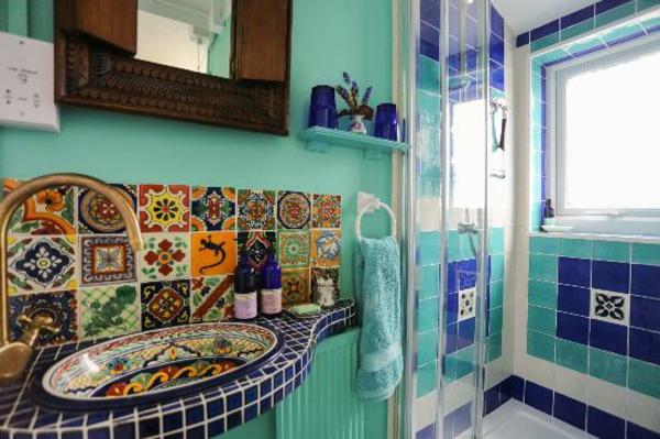Marokkanische Badezimmer