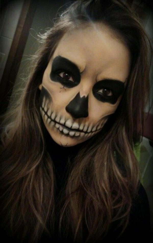 Coole Halloween Schmink Ideen
