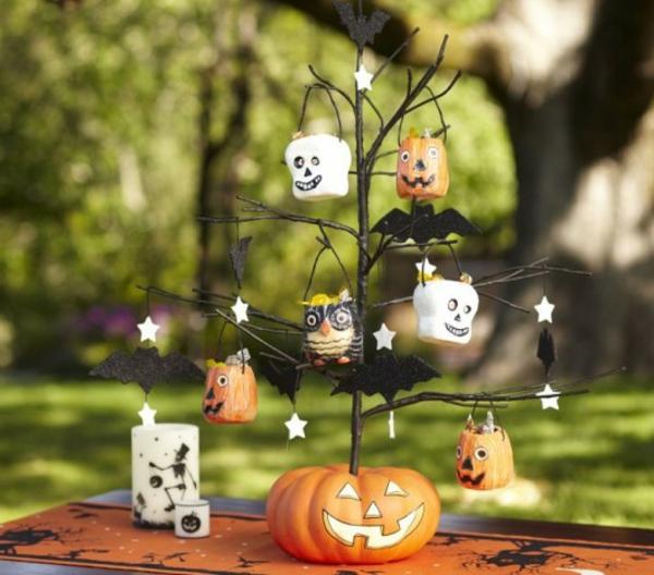 Tolle Halloween Dekoration selber machen  Archzinenet