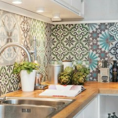 Retro Kitchen Tile Backsplash Catskill Craftsmen Island Marokkanische Fliesen - Faszinierende Fotos! Archzine.net