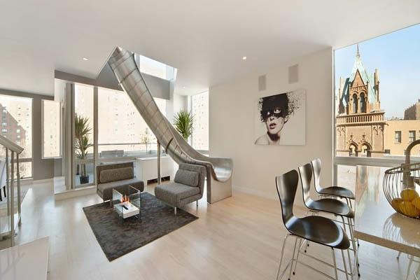 Penthouse in New York  erstaunliche Fotos  Archzinenet