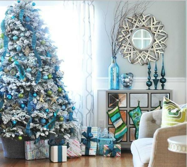 Wunderschöne Ideen Für Weihnachtsbaum Deko!  Archzinenet