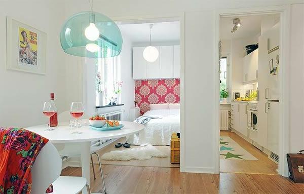 Einrichtungsideen Bilder Einzimmerwohnung Einrichten
