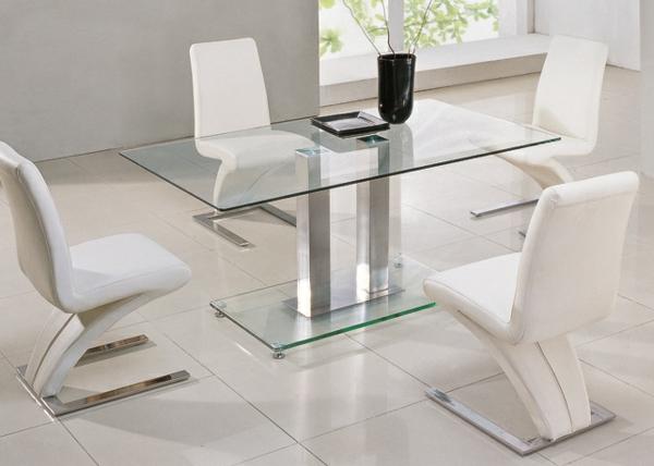 Esstisch aus Glas  schick und elegant  Archzinenet