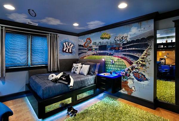 ideen fuer wandgestaltung im jugendzimmer die im trend liegt | ambrid - Ideen Fur Wandgestaltung Im Jugendzimmer Die Im Trend Liegt