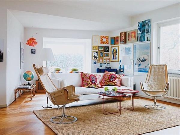kleine wohnzimmer gemutlich einrichten - boisholz - Kleines Wohnzimmer Gemutlich