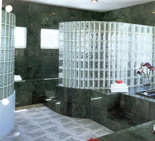 Glasbausteine fr Dusche  44 prima Bilder