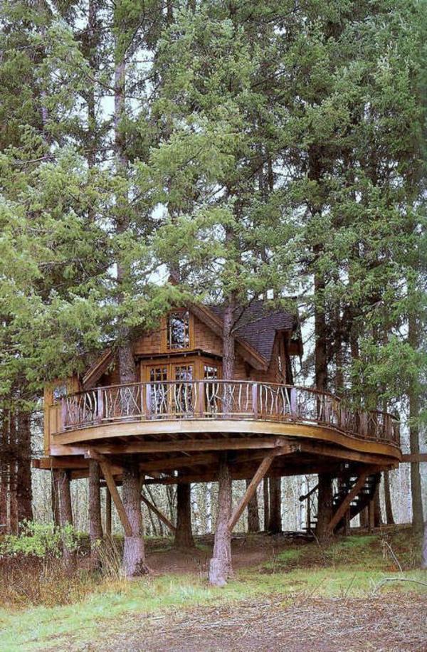 Ein super Baumhaus  erstaunliche Fotos