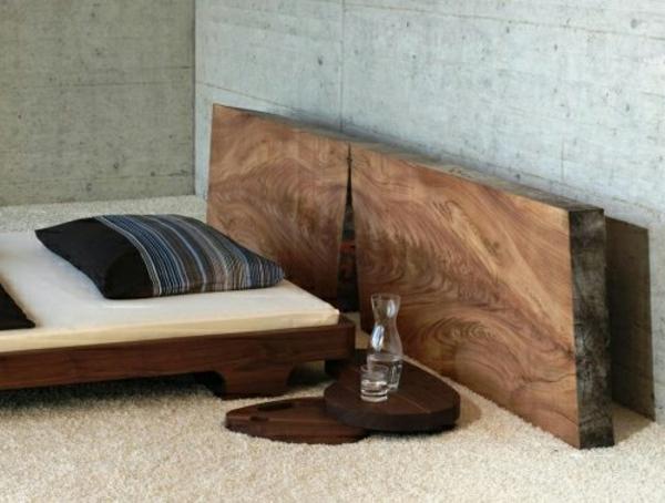 Bett Kopfteil Holz Selber Bauen Bvraocom