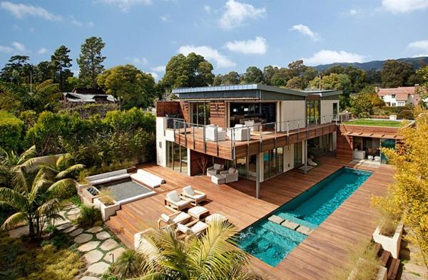 gartengestaltung pool und teich schwimmingpool fur den garten, Garten und Bauten