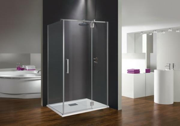 Moderne Duschkabine fr das Badezimmer