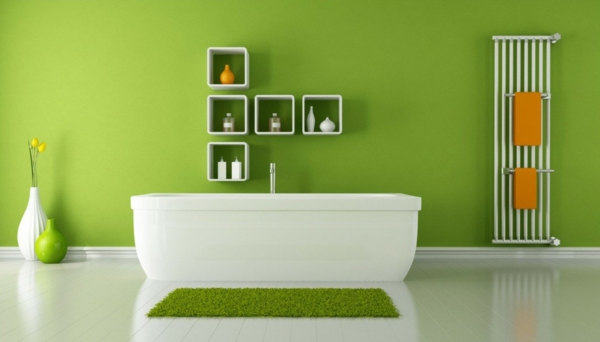 100 Ideen fr Wandgestaltung in Grn  Archzinenet