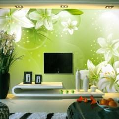 Green Living Room Walls Remodel Pictures 100 Ideen Für Wandgestaltung In Grün! - Archzine.net