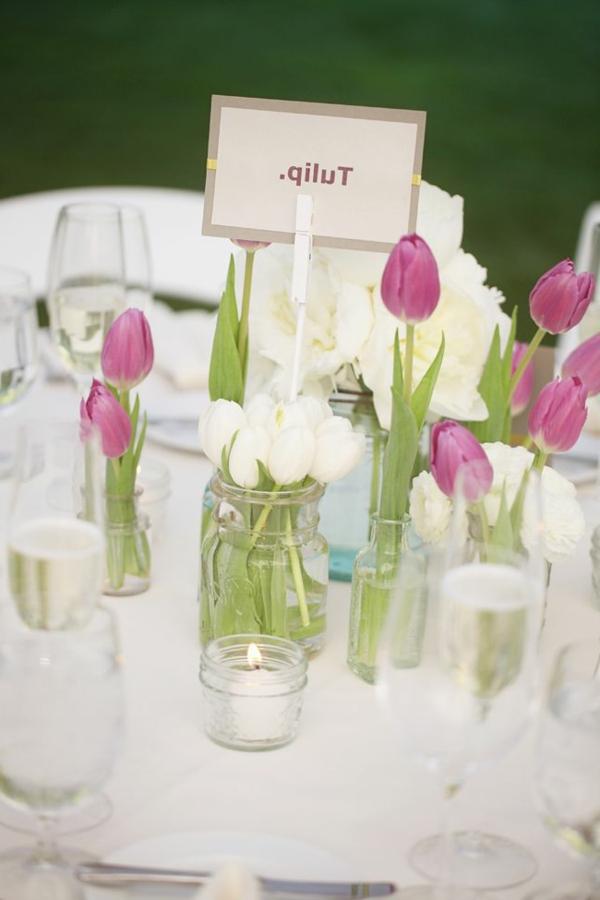 100 tolle Ideen fr Tischdeko mit Tulpen