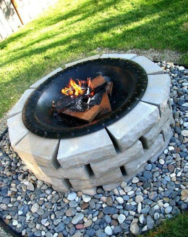 Feuerstelle im Garten  36 prima Designs  Archzinenet