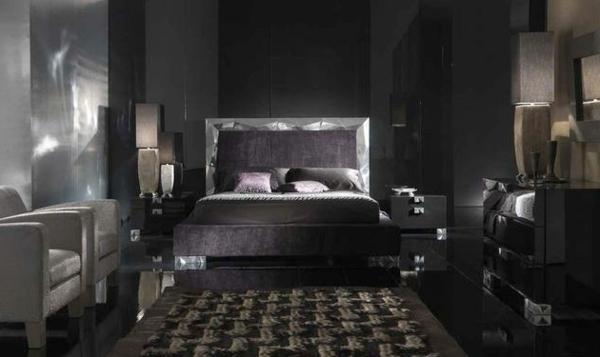Schwarze Wandfarbe fr Schlafzimmer  30 Bilder